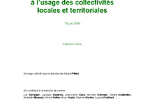 La sécurité à l'usage des collectivités locales et territoriales